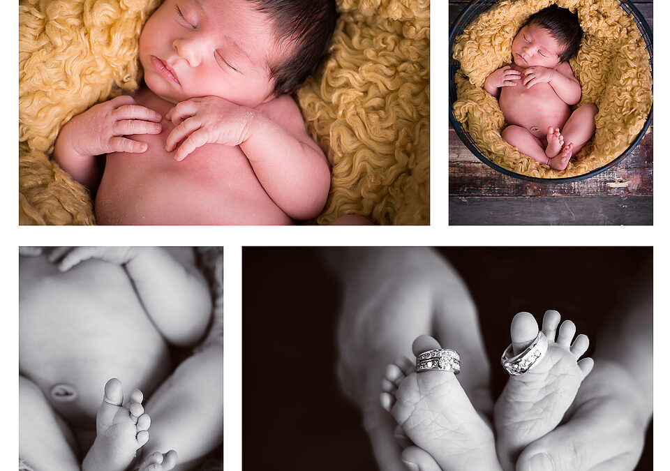 Owen :: Newborn Photography :: Shell Lake, WI