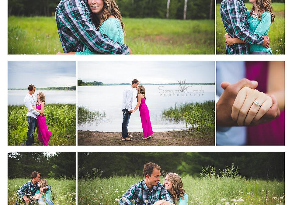 Landon + Taylor :: Engagement Photographer :: Shell Lake, WI