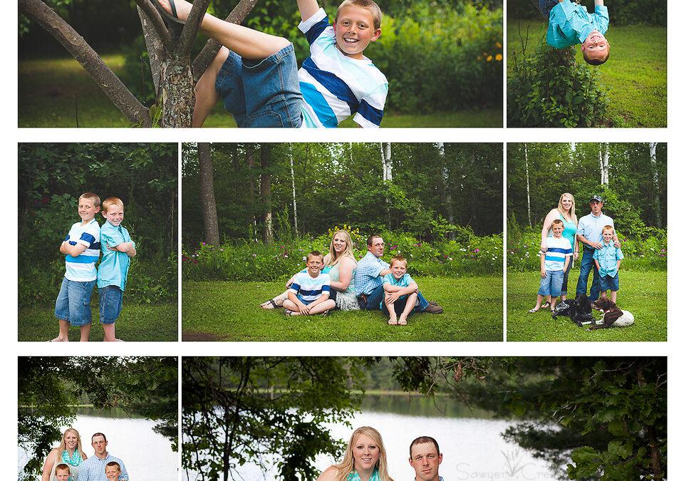 Olson Family :: Family Photographer :: Shell Lake, WI