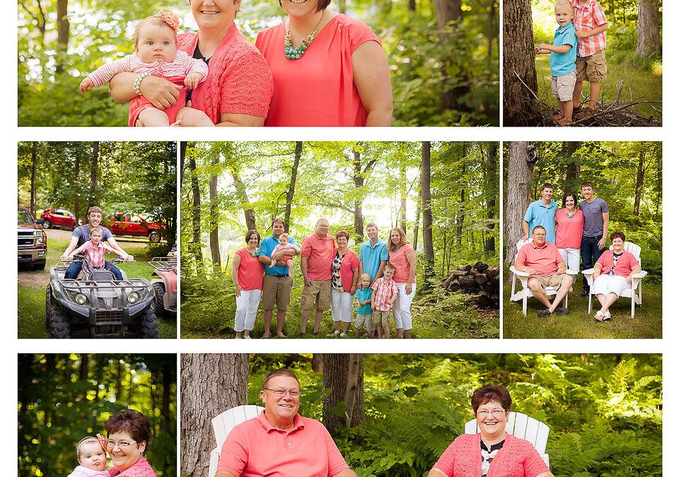 Weber Family :: Family Photographer :: Shell Lake, WI