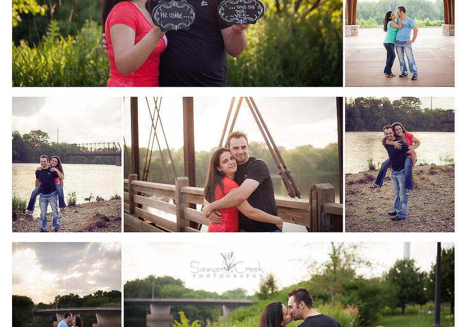 Chris & Bianca :: Engagement Photographer :: Eau Claire, WI