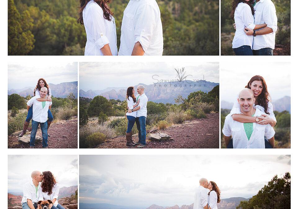 Mike & Tiara :: Engagement Photographer :: Phoenix, AZ