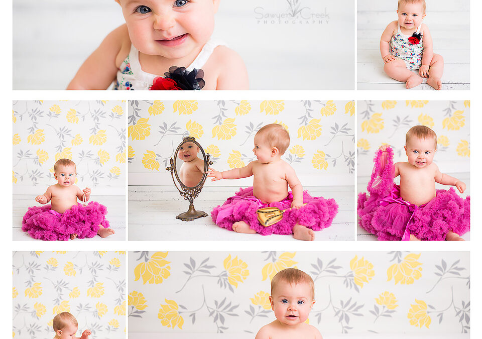 Nora 9 Months :: Baby Photographer :: Shell Lake, WI