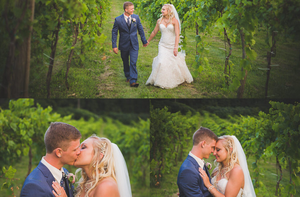 Austin & Kaitlyn~Cottage Winery~Wisconsin Wedding Photographer