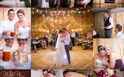 Colin & Madeline-Knoop Wedding Barn-Shell Lake, WI Wedding Photographer