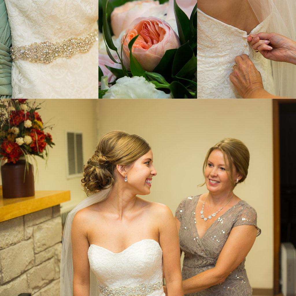 Outdoor Wedding Ceremony Eau Claire: Ben & Rachel-Eau Claire, WI-Wedding Photographer