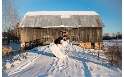 Winter Elopement | Enchanted Barn | Destination Wedding Photographer