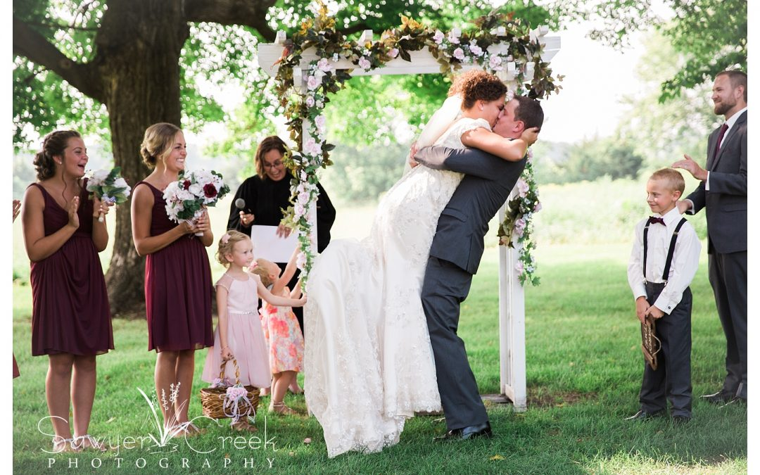 Maple Ridge Farm Wedding   Taylors Falls, MN   WI Wedding Photographer
