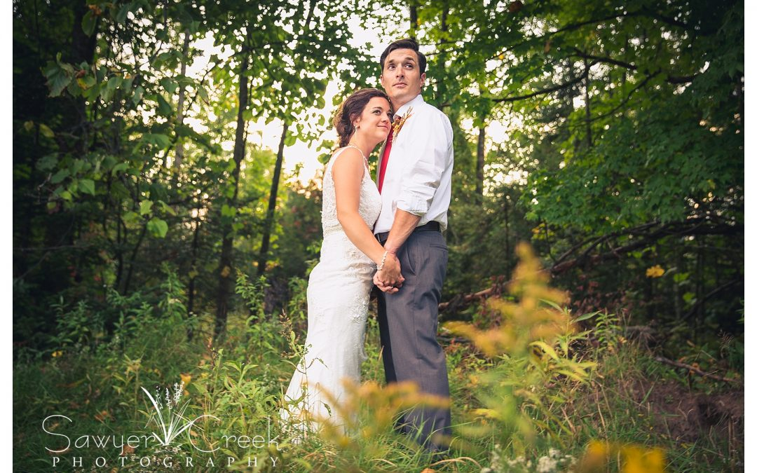 Rustic Fall Wedding || Butternut, WI Wedding Photographer