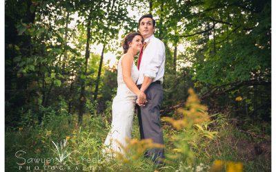 Rustic Fall Wedding || Butternut, WI Wedding Photographer